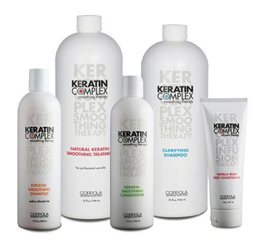 keratin complex products - Evoke Salon & Spa